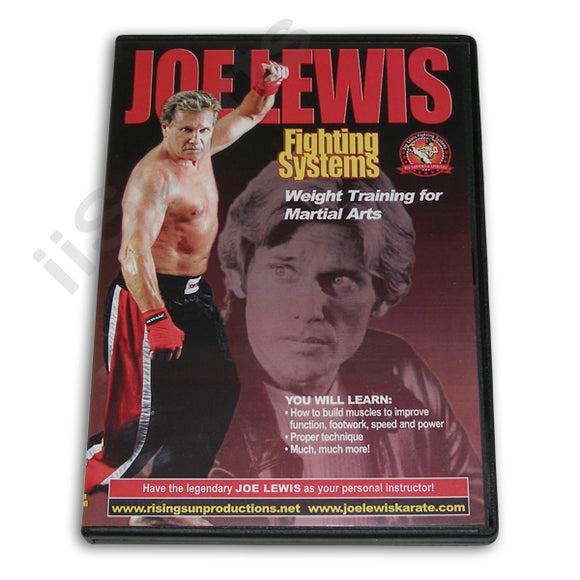 Joe Lewis Fighting Weight Training #15 DVD