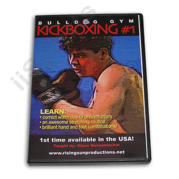 Bulldog Gym Kickboxing #1 DVD Klaus Nonnemacher