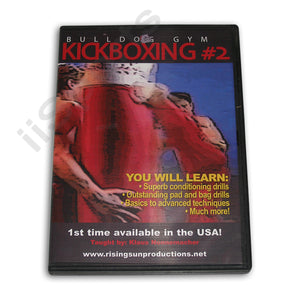 Bulldog Gym Kickboxing #2 DVD Klaus Nonnemacher