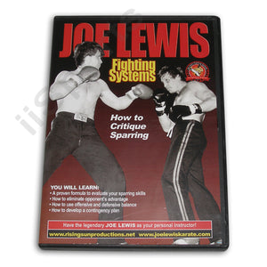 Joe Lewis Fighting Critique Sparring DVD