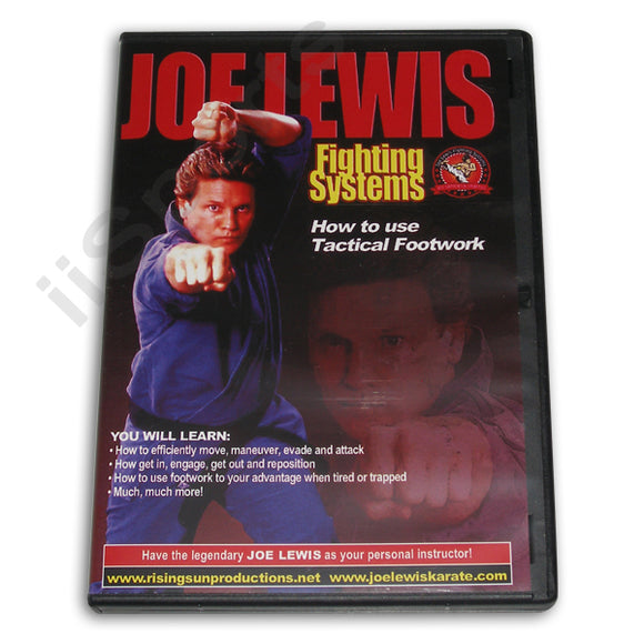 Joe Lewis Fighting Tactical Footwork DVD