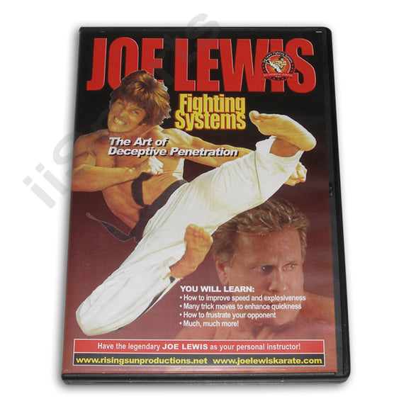 Joe Lewis Fighting Deceptive Penetration DVD