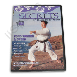 Secrets Championship Karate Conditioning Speed DVD Au
