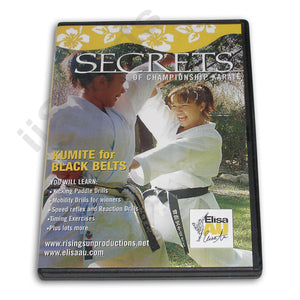 Secrets Championship Karate Kumite Black Belt DVD Au
