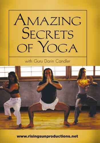 Amazing Secrets of Yoga DVD Darin Candler