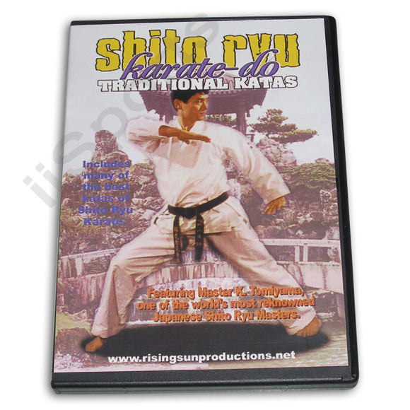 Shito Ryu Karate Do Traditional Katas DVD Tomiyama
