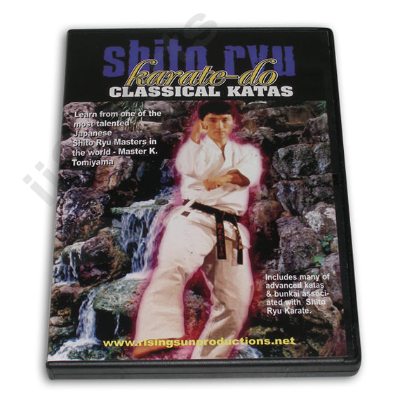 Shito Ryu Karate Do Classical Katas DVD Tomiyama