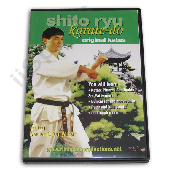Shito Ryu Karate Do Original Katas DVD Tomiyama