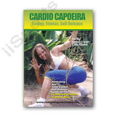 Brazilian Self Defense Cardio Capoeira Energy Fitness DVD Model Carla Ribeiro