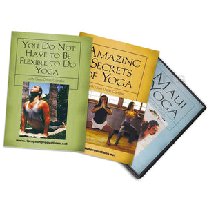 Secrets of Yoga 3 DVD Set