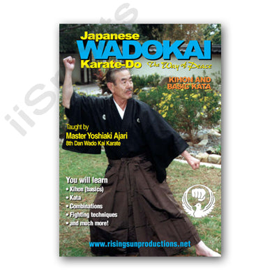 Wadokai Karate Do Kihon Basic Kata DVD Ajari