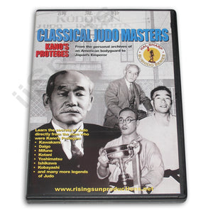 Classical Judo Masters Kano's Proteges DVD