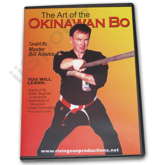 Art of Okinawan Bo Staff DVD Bill Adams