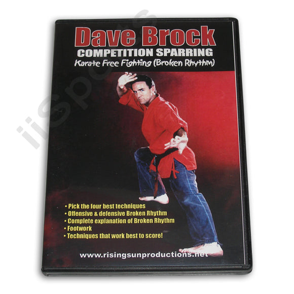 Competition Sparring Karate Free Fighting DVD Dave Brock