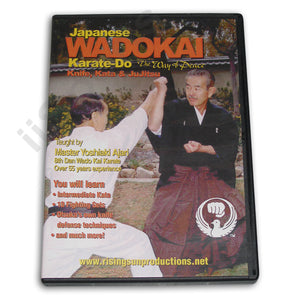 Wadokai Karate Do Knife Kata JuJitsu DVD Ajari