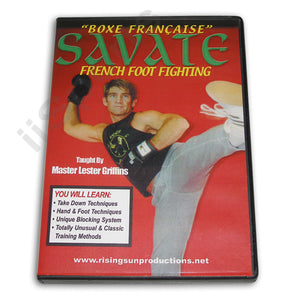 Savate French Foot Fighting DVD Griffins