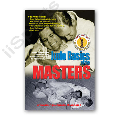Judo Basics of Masters DVD Hal Sharp