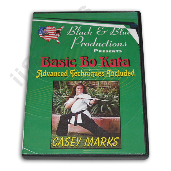 Tournament Karate Advanced Bo Staff Kata Techniques DVD Casey Mark