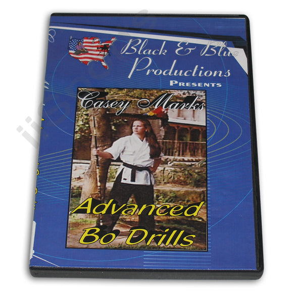 Tournament Karate Advanced Bo Drills Forms DVD Casey Mark