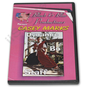 Tournament Karate Dynamic Bo Staff Techniques DVD Casey Mark