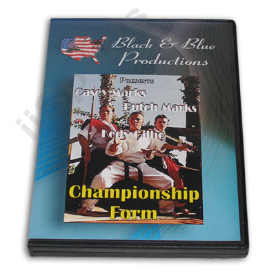 Tournament Karate Championship Bo & Sword Forms Kata DVD Casey & Butch Marks