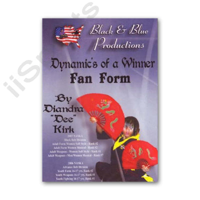 Tournament Karate Fan Form Kata DVD Diandra 'Dee' Kirk