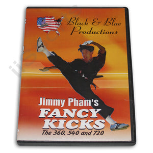 Tournament Karate Fancy Kicks for Forms Kata DVD Jimmy Pham