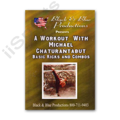 Tournament Karate Workout Kicks Combos DVD Mike Chaturantabut