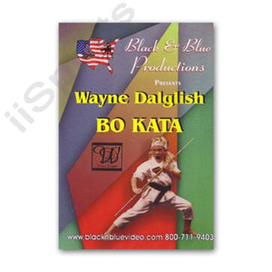 Tournament Karate Bo Staff Demos & Kata DVD Wayne Dalglish