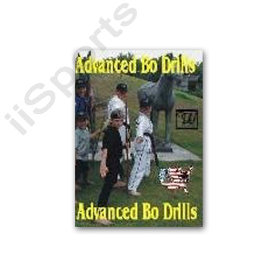 Advanced Bo Staff Drills DVD Wayne Dalglish