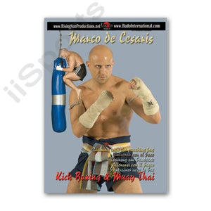 Muay Thai Boran Punching Kicking Bag Work DVD Look Mai Mai Mae Arjarn Cesaris