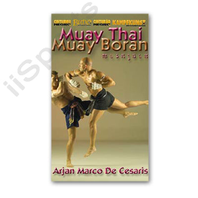 Muay Thai Boran Elbow Strikes DVD Arjan Marco De Cesaris