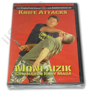 Moni Aizik Knife Attacks DVD