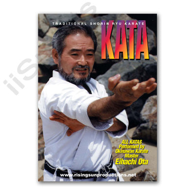 Traditional Shorin Ryu Karate Kata DVD Ota