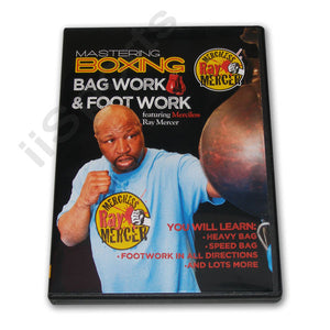 Mastering Boxing Mastering Bag & Foot Work DVD Mercer