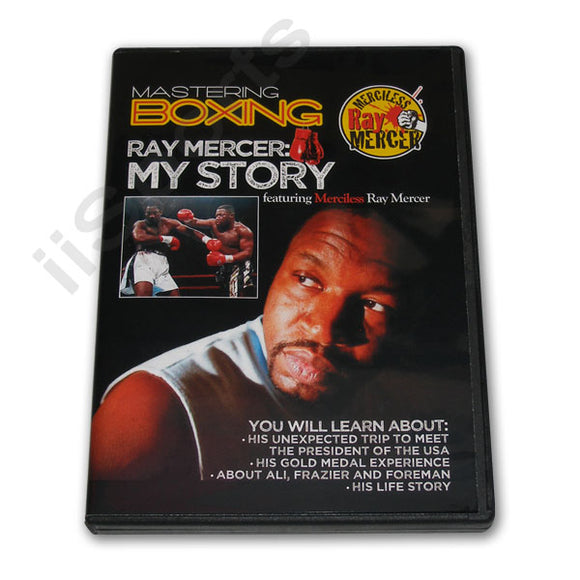 Mastering Boxing My Story DVD by Ray Mercer