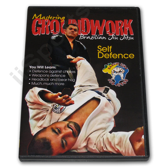 Mastering Groundwork Jiu Jitsu SELF DEFENCE #3 DVD