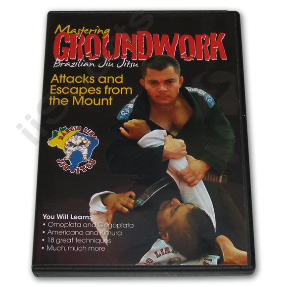 Mastering Groundwork Jiu Jitsu ATTACKS ESCAPES #5 DVD Lira