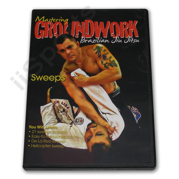 Mastering Groundwork Jiu Jitsu SWEEPS #6 DVD Lira