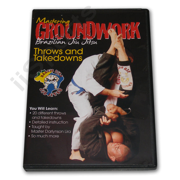 Mastering Groundwork Jiu Jitsu THROWS TAKEDOWNS #8 DVD Lira