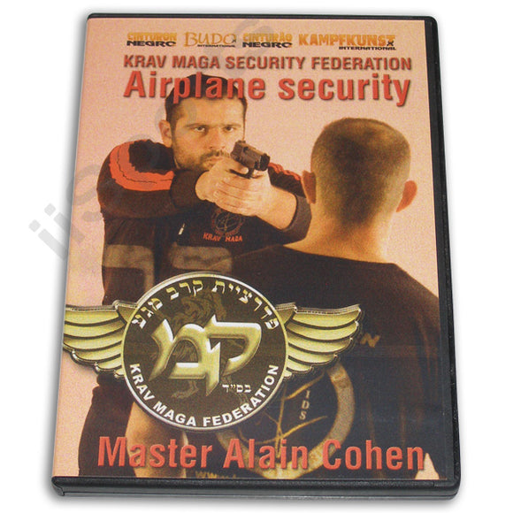 Krav Maga Airplane Security DVD Cohen