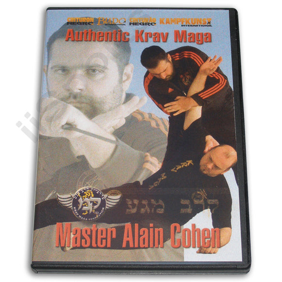 Authentic Krav Maga DVD Cohen