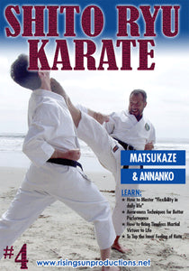 Shito Ryu Karate #4 Cracking Code of Kata Matsukaze DVD Billimoria