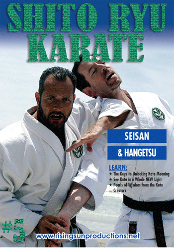 Shito Ryu Karate #5 Cracking Code of Kata Seisan DVD Billimoria
