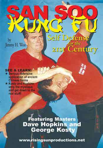 San Soo Kung Fu Total Body Fighting #1 DVD Hopkins Kosty