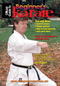 Beginners Guide To Karate Shotokan DVD Jim Wilson