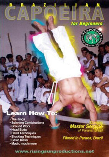 Brazilian Capoeria Dance Martial Arts 2 DVD Set