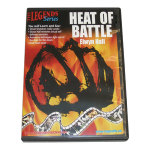 Shotokan Karate Heat of Battle DVD Hall KUGB