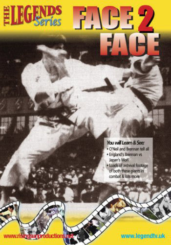 1980s European Shotokan Karate Face to Face DVD Terry O'Neill, Frank Brennan