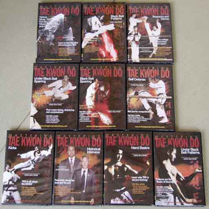 Mastering Tae Kwon Do 10 DVD + 2 Book Set